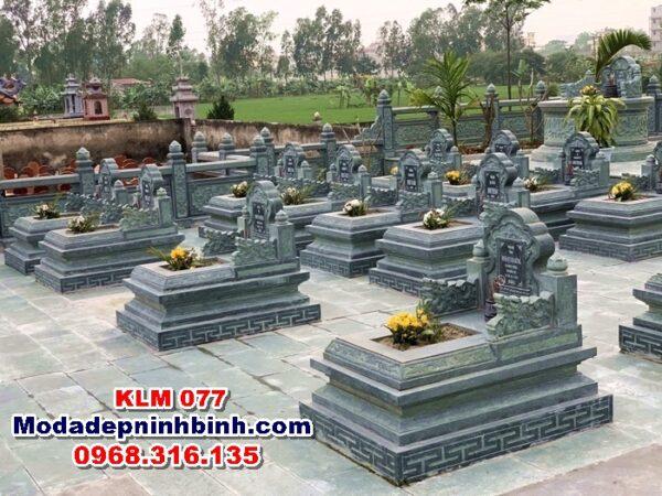Đá lát khu lăng mộ