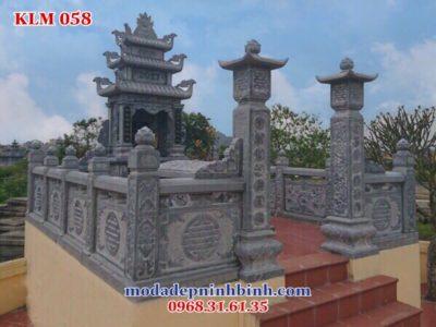 Kích thước nghĩa trang khu lăng mộ