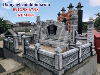 Khuôn viên khu lăng mộ đá KLM 069