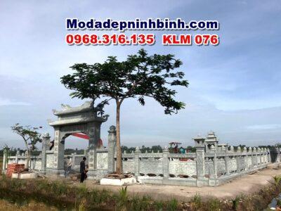 Khuôn viên khu lăng mộ đá KLM 076