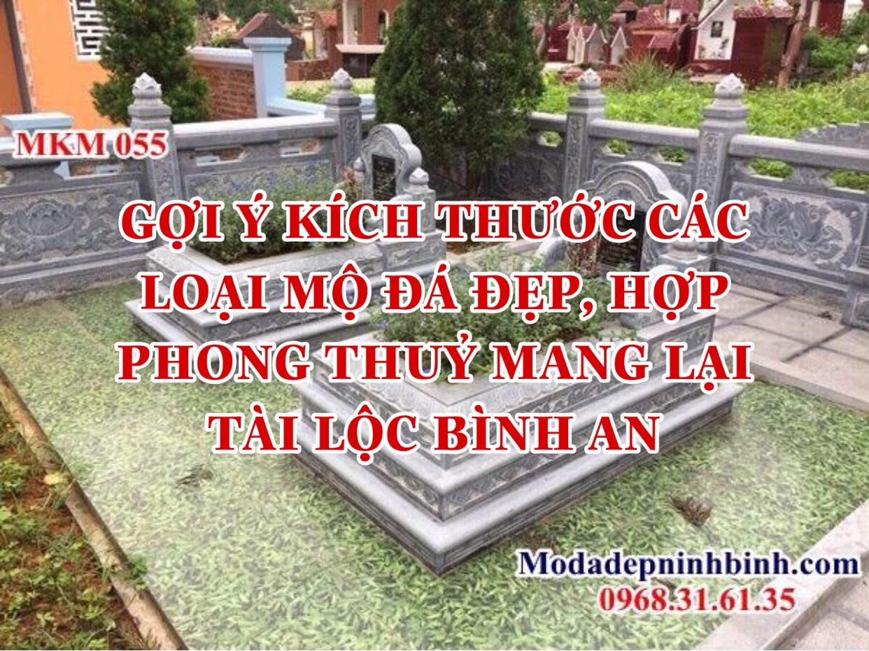 Kích thước các loại mộ đẹp