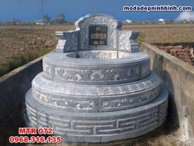 Lăng mộ hình tròn phong thủy Ninh Bình MTR 072