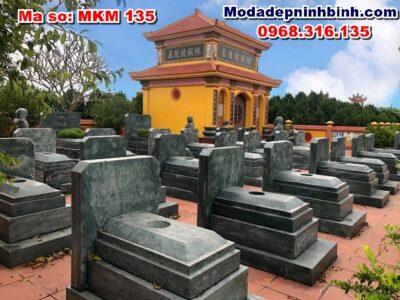 lăng mộ đá xanh rêu thanh hóa mkm 135