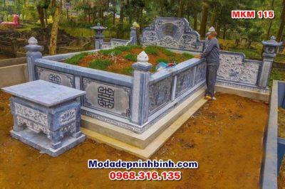 lăng mộ đá đẹp MKM 115