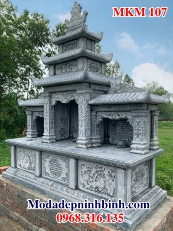 Lăng mộ đá đẹp MKM 107
