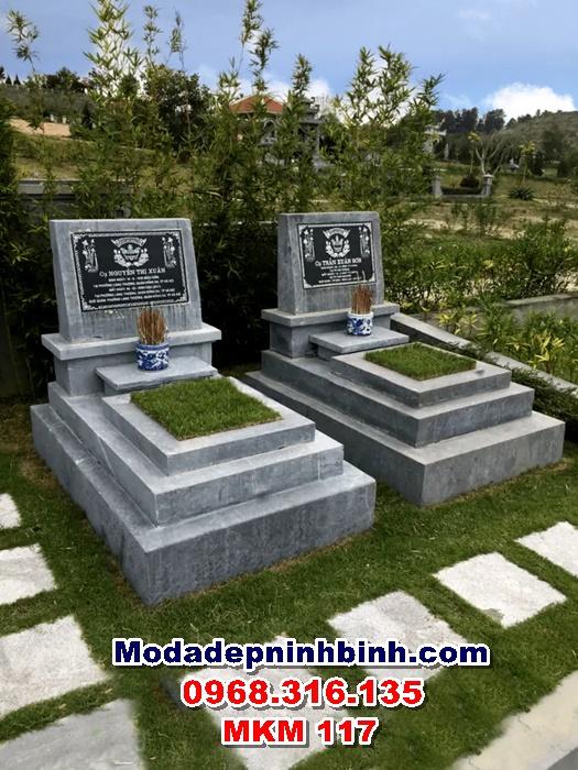 Lăng mộ đá đẹp MKM 117