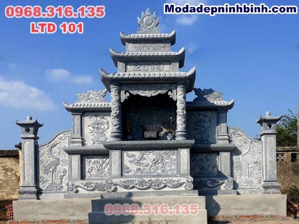 Lăng mộ đá thờ chung đẹp