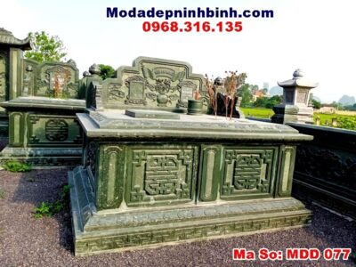 Lăng mộ đôi đá xanh rêu thanh hóa