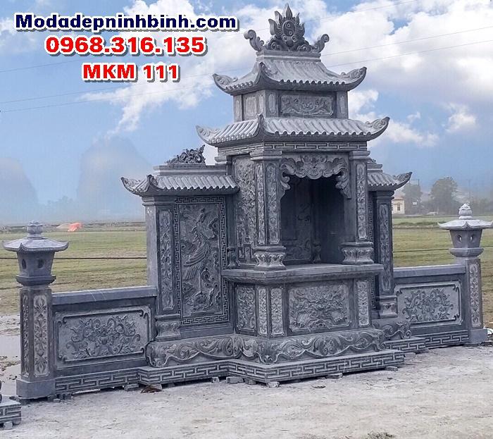 Lăng thờ đá đẹp mkm 111