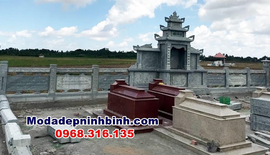 lăng thờ chung cho cả khu lăng mộ