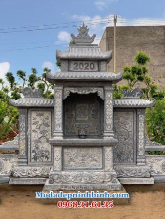 Long đình đá khu lăng mộ Hậu Giang