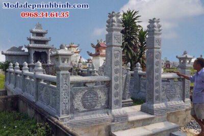 Mẫu cổng đá nghĩa trang
