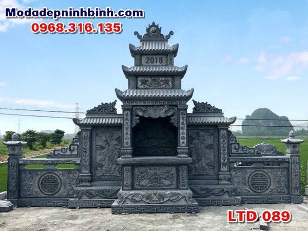 Mẫu long đình đá làng nghề Ninh Vân