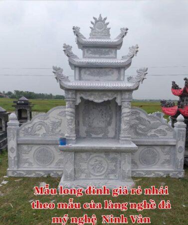 Mẫu mộ đá giá rẻ kém chất lượng