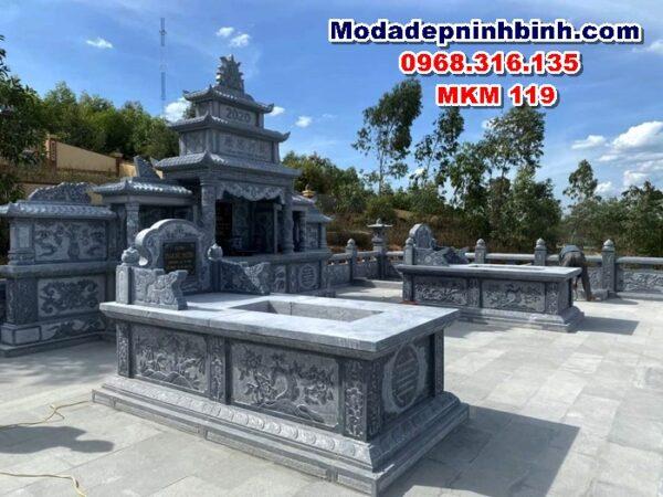 Mộ đá đẹp mkm 119