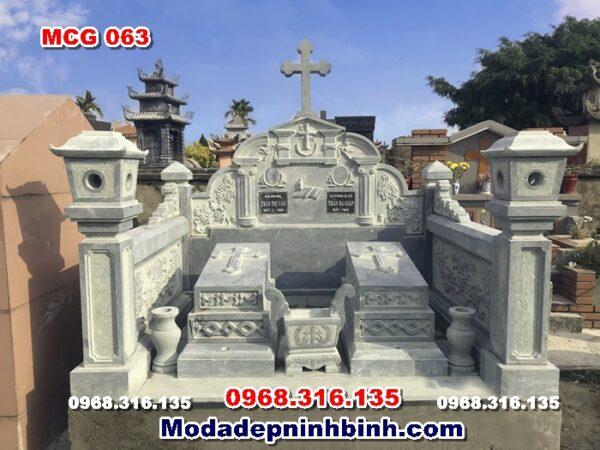 mộ-đá-công-giáo-xanh-rêu-người-theo-đạo-thiên-chúa-nam-định-mcg-063