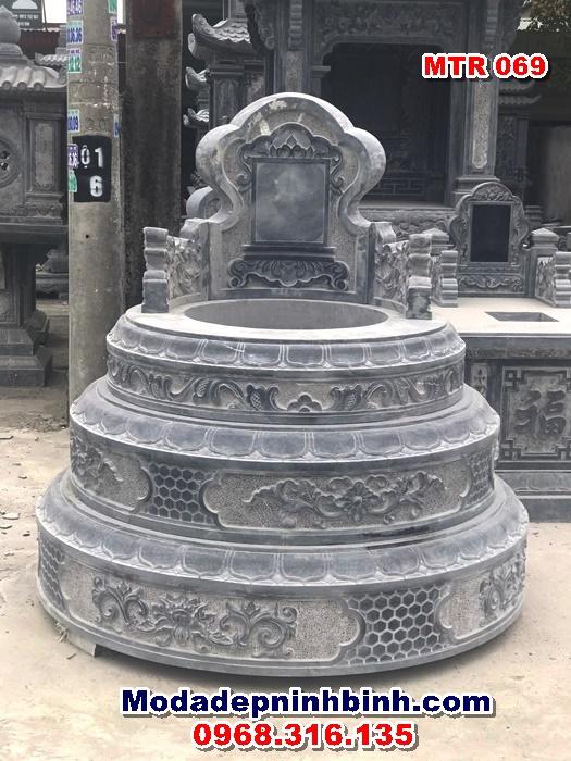 Mộ đá hình tròn MTR 069