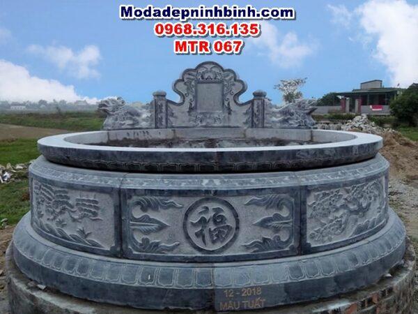 mộ tròn đá MTR 067