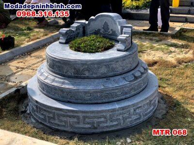 mộ tròn đá MTR 068