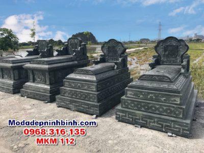 Mẫu mộ đá đẹp mkm 112