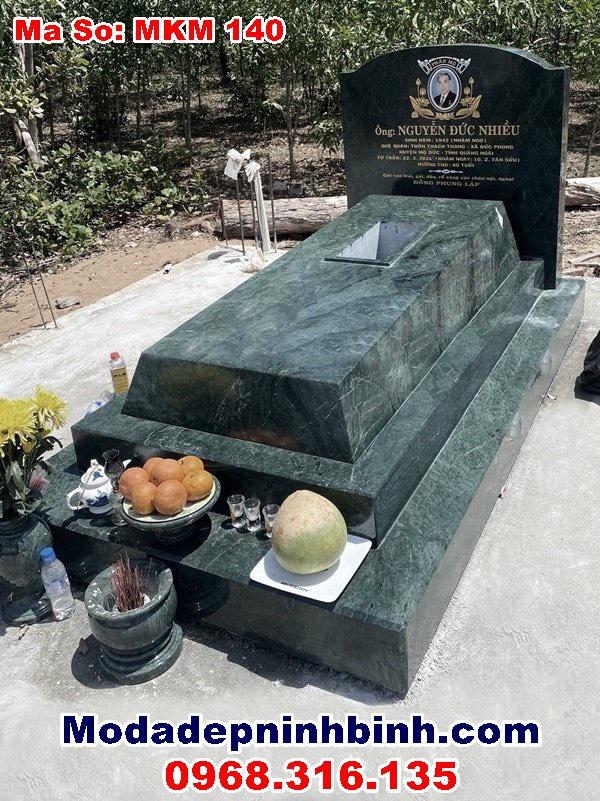 mẫu mộ đá ninh bình đẹp nhất