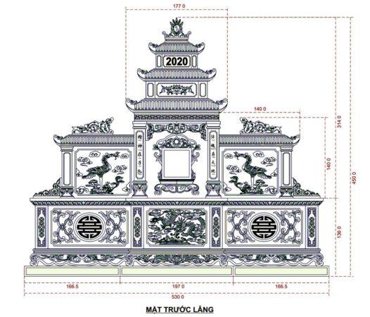 Mẫu thiết kế long đình đá Châu đốc An Giang