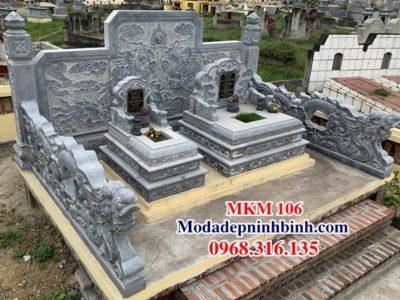 Mộ đá đẹp MKM 106