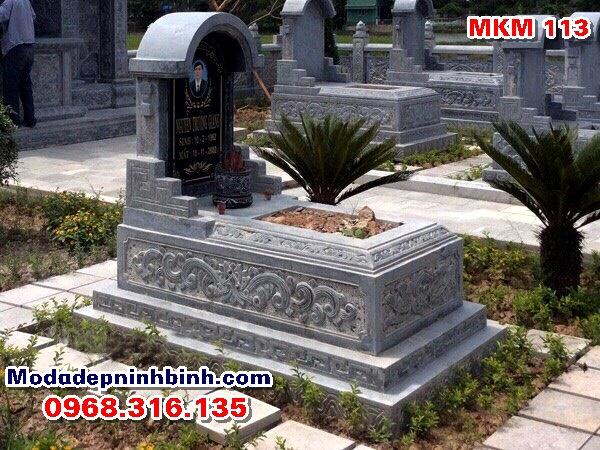 Mộ đá đẹp mkm 113