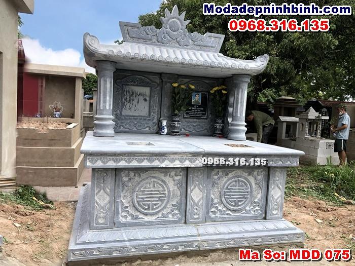 mộ đá đôi đẹp Thường Tín