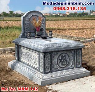 mộ đá xanh đen xanh rêu thanh hóa ninh bình đẹp