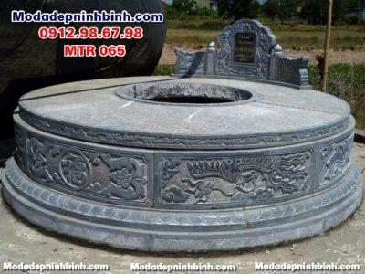 Mộ tròn đá đẹp MTR 065