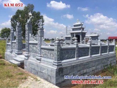 thiết kế khu lăng mộ đá đẹp