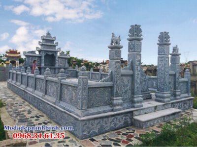 thiết kế khu lăng nghĩa trang dòng họ