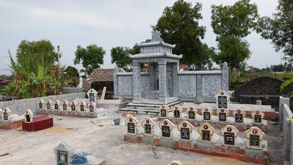 Tôn tạo lăng thờ đá tại Diễn châu Nghệ An