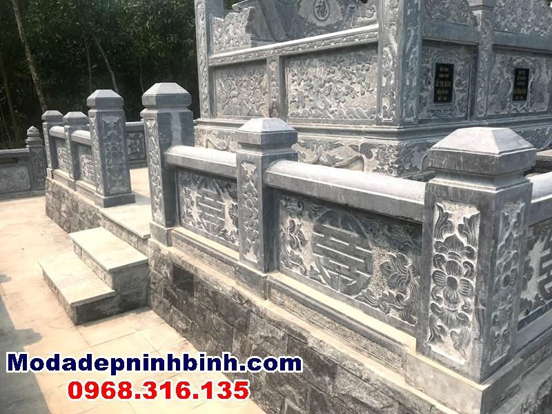 tường rào da sát mộ tổ
